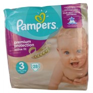 Pampers Active Fit Taille 3 x 28