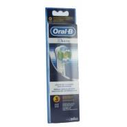 Oral-B Lot de 3 brossettes 3D White (EB18)