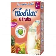 Modilac Les Céréales de Bébé 6 fruits  300 g