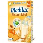 Modilac Les Céréales de Bébé Biscuit Miel 300 g