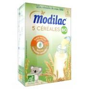 Modilac Les Céréales de Bébé Bio 5 Céréales 230 g