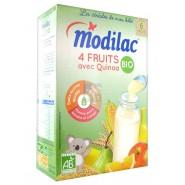 Modilac Les Céréales de Bébé Bio Fruits Quinoa 230 g