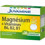 Juvamine Fizz Magnésium Vitamines B6, B2, B1 x 30