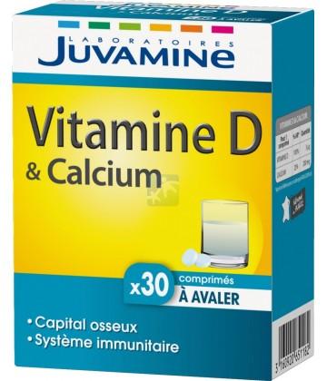 Juvamine Vitamine D Calcium x 30
