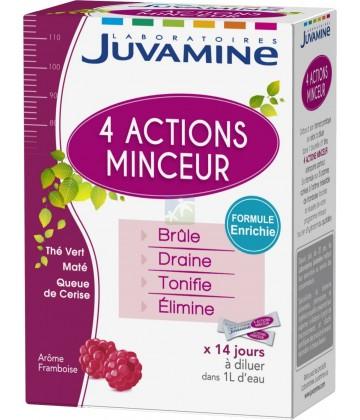 Juvamine Minceur 4 Actions 14 Sticks