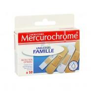 Mercurochrome Pansements Universel Famille x 50