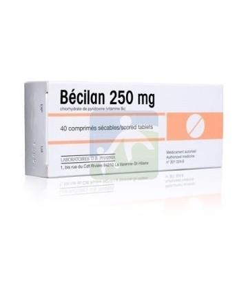 Bécilan 250 mg Comprimés x 40