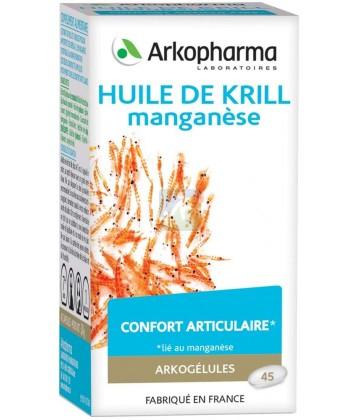 Arkogélules Huile de Krill Manganèse x 45