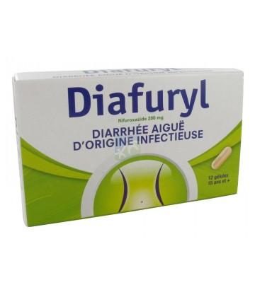 Diafuryl 200 mg x 12