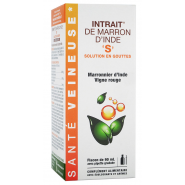 "Intrait de Marron d'Inde ""S"" Solution en Gouttes 90 ml"