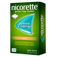 Nicorette 2 mg Fruits Sans Sucre x 30