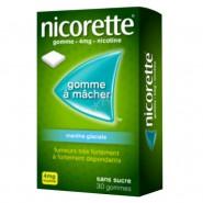 Nicorette 4 mg Menthe Glaciale Sans Sucre x 30