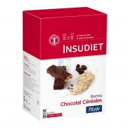 PiLeJe Insudiet Barres Céréales Chocolat  x 12