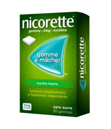 Nicorette 2 mg Menthe Fraîche Sans Sucre x 30