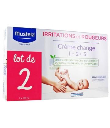 Mustela Crème pour le Change 2x100ml