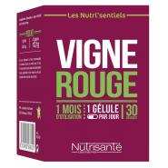 Nutrisanté Les Nutri'sentiels Vigne Rouge x 30
