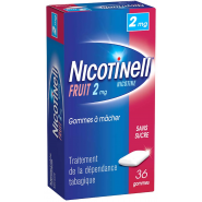 Nicotinell Fruits 2 mg Sans Sucre x 36