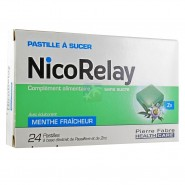 NicoRelay Pastilles Menthe Fraîcheur  x 24