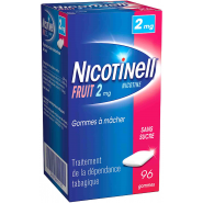 Nicotinell Fruits 2 mg Sans Sucre x 96