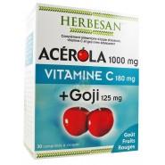 Herbesan Acérola 1000 Vitamine C + Goji x 30