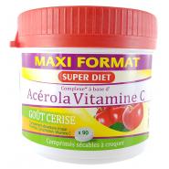 Super Diet Acerola Vitamine C 500 x 90