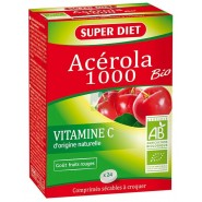 Super Diet  Acérola 1000 Bio x 24
