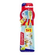 Colgate Brosse à Dents Minions Kids à partir de 6 ans + 1 OFFERTE