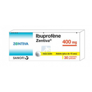 Ibuprofène Zentiva 400 mg Comprimés x 30