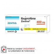 Ibuprofène Zentiva 400 mg Comprimés x 20
