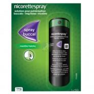 NicoretteSpray 1 mg Menthe Fraîche