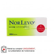 Norlevo 1,5 mg Contraception Urgence Comprimé x 1