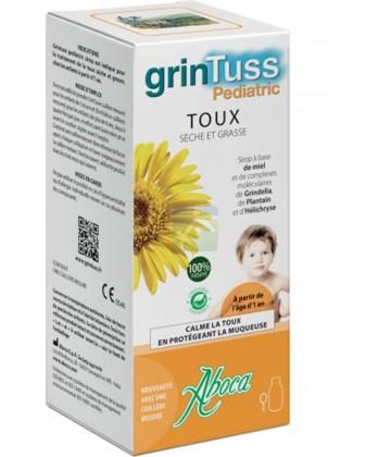 Aboca GrinTuss Pediatric Toux Sèche et Grasse 128 g
