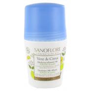 Sanoflore Vent de Citrus Déodorant 24h 50 ml
