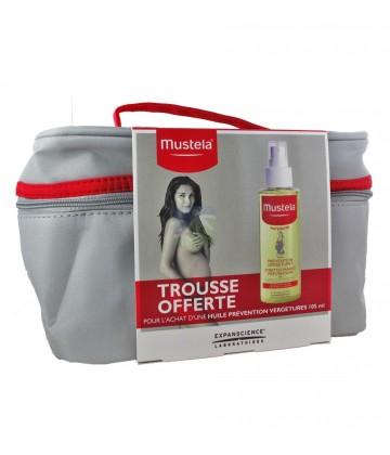 Mustela Maternité Coffret Trousse Huile Prévention Vergetures 105 ml