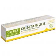 Cattier Dentifrice Dentargile à l'Huile Essentielle de Citron 75 ml