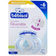 Bébisol Sucette SR10 Réversible Silicone -6 mois