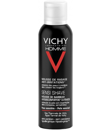 Vichy Homme Mousse à Raser Anti-Irritations 50ml