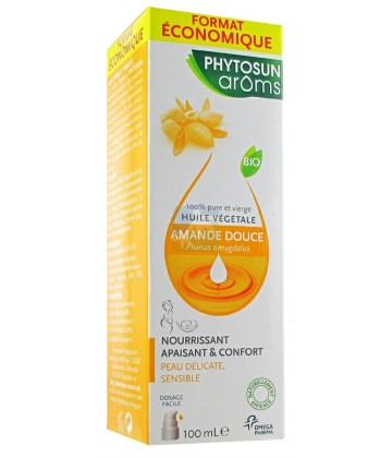 Phytosun Aroms Huile Végétale Bio Amande Douce 100 ml