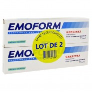 Emoform Dentifrice Gencives Sensibles Menthe 2 x 75 ml