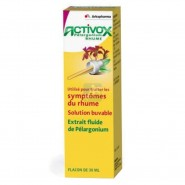 Activox Rhume Pélargonium Gouttes 30 ml