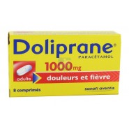 Doliprane 1000 mg comprimés x 8
