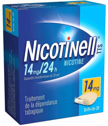 Nicotinell TTS 14 mg/24h x 28