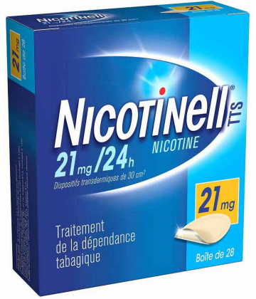 Nicotinell TTS 21 mg/24h x 28