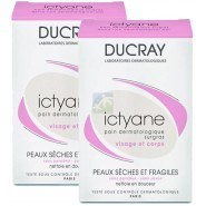 Ducray Ictyane Pain Surgras 2 x 100 g
