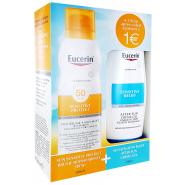Eucerin Sun Sensitive Protect Brume 50 200 ml + After Sun 150 ml