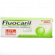 Fluocaril Dentifrice Dents Sensibles Bi-Fluoré 2 x 75 ml
