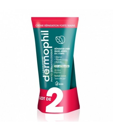 Dermophil Indien Réparation Forte Mains 2 x 75 ml