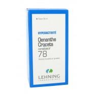 Lehning n°78 Oenanthe Crocata Hyperactivité 30 ml