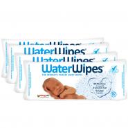 Waterwipes Lingettes Bébé  4 x 60