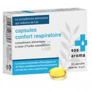 SOS Aroma Capsules Confort Respiratoire x 30